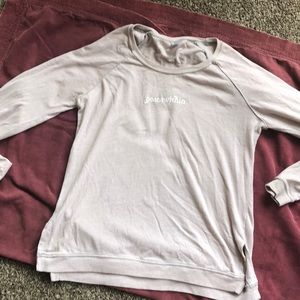 Tops - Peace Within sweatshirt (thin)